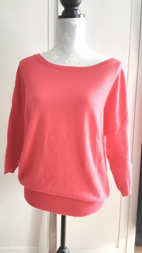 andere Marke Pull en laine rouge clair