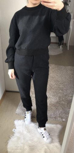 Zara Twin set in maglia nero