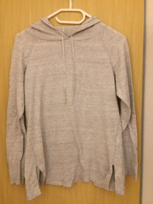 Gap Maglione con cappuccio grigio-grigio chiaro Tessuto misto