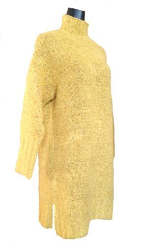 Weicher, kuscheliger Long-Pullover mit Stehkragen