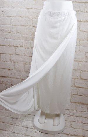 Via Appia Gonna aderente bianco Tessuto misto