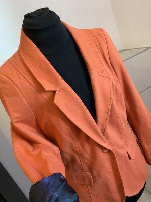 Weicher Orangefarbene Blazer