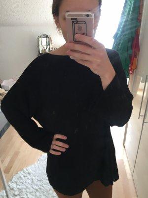 Weicher Oversized-Pullover mit Schleifenbindung im Rücken von Zara
