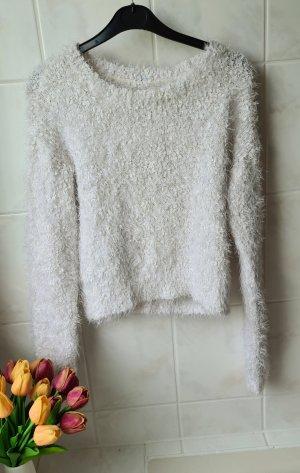 H&M Crewneck Sweater white