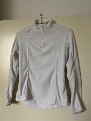Quechua Polarowy sweter biały-jasnobeżowy
