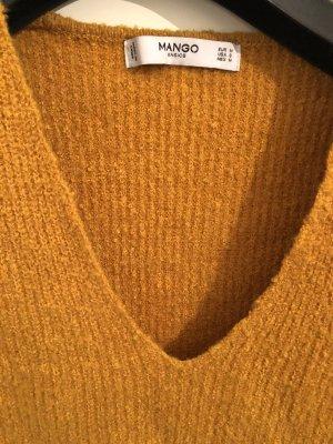 Weicher Pullover senfgelb