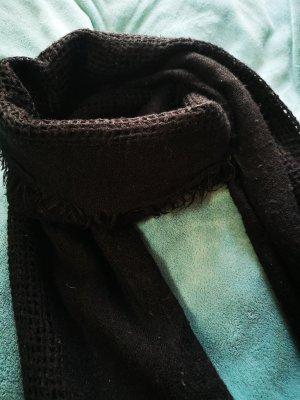 American Vintage Wollen sjaal zwart