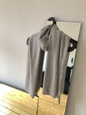 H&M Bufanda de punto gris-gris claro tejido mezclado