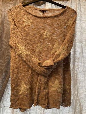 Review Pullover a maglia grossa multicolore