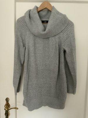 Wallis Knitted Sweater light grey polyacrylic