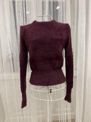 Zara Knit Pull polaire multicolore
