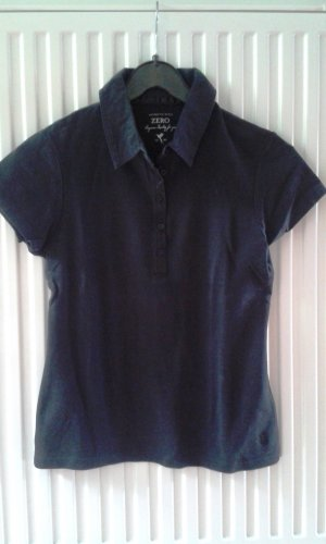 Zero Polo shirt zwart