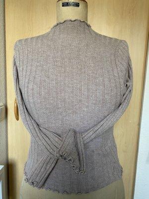 Weiches Blogger Pullover Shirt leichter Rollkragen