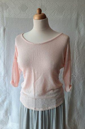 Shana Camicia maglia rosa pallido