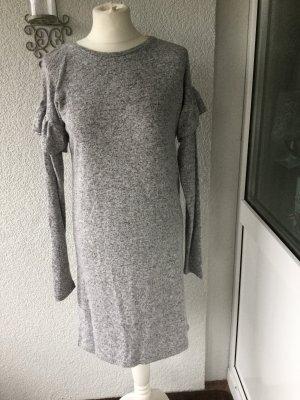 Rock angel Robe en maille tricotées gris clair
