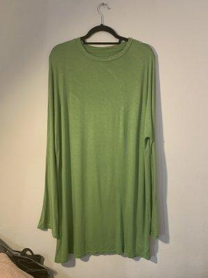 Unbekannte Marke Camicia oversize verde prato