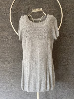 Public Cashmere Vestito di lana grigio chiaro