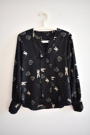 Weichfallende Bluse von Zara für Office Chic & elegante Anlässe