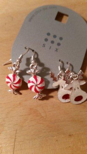Weihnachtliche Ohrringe
