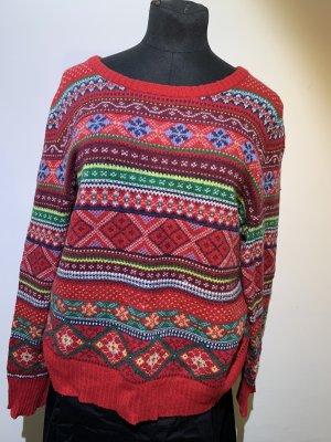 Weihnachtspulli Norwegerpulli H&M Gr. XL