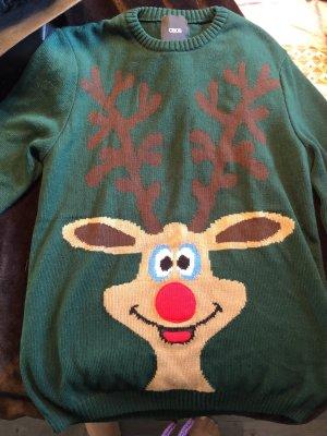Weihnachtspullover ASOS Rudolf