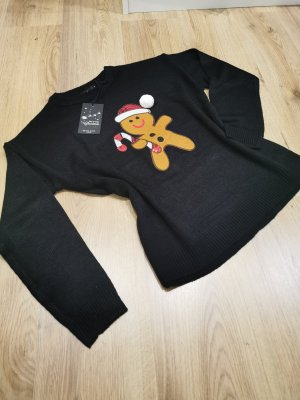 Weihnachtspullover > Christmas Langarmpullover > Lebkuchenmann Gr. M