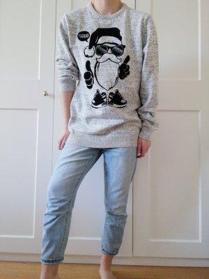 C&A Pull de Noël gris clair-gris