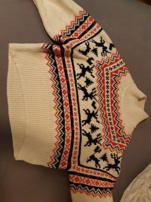 Weihnachtspullover Damen mit Rentier H&M
