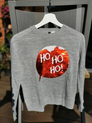 H&M Sudadera navideña gris