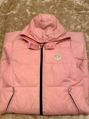 Benetton Down Coat pink
