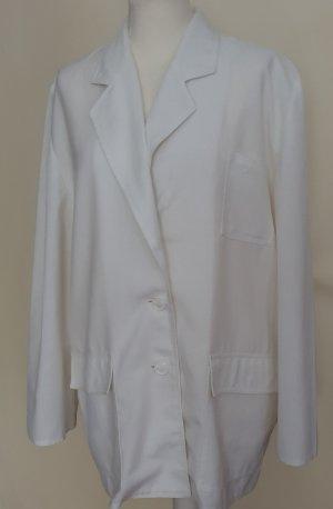 Weill Blazer de tela de sudadera blanco