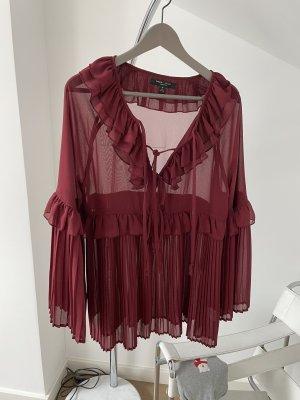 Romeo & Juliet Couture Camicetta a maniche lunghe bordeaux-rosso scuro