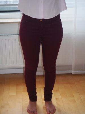 Weinrote Hallhuber Jeans
