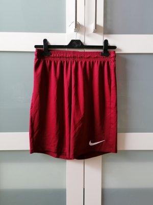 Weinrote Sporthose Nike