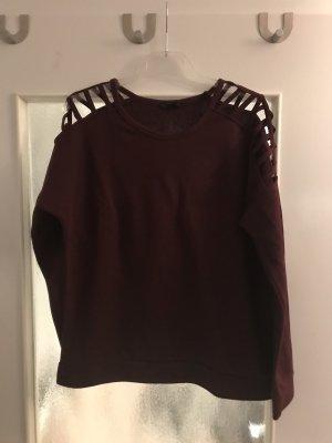 Amisu Long Sweater bordeaux