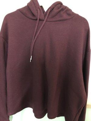 Weinroter hoodie