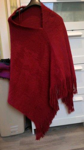 Tkmaxx Poncho dark red