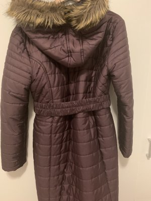 Hooded Coat blackberry-red