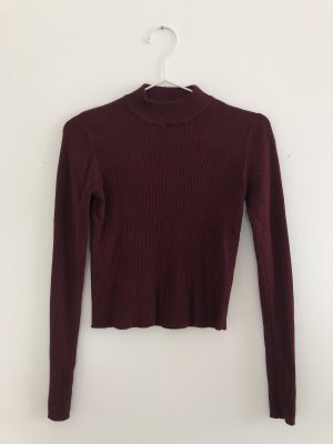 weinrotes turtle neck
