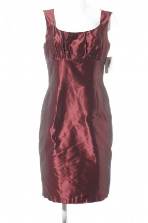 Weise Abendkleid karminrot Elegant