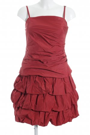 Weise Abendkleid rot Party-Look