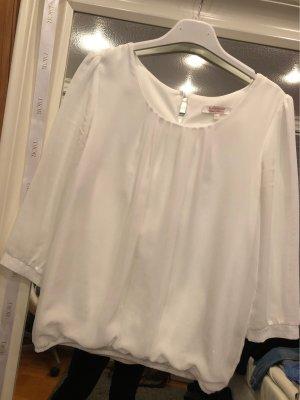 Clockhouse Long Sleeve Blouse white