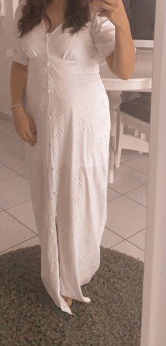 Asos Sukienka maxi biały