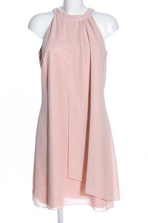 Weise Sukienka z dekoltem typu halter różowy Elegancki