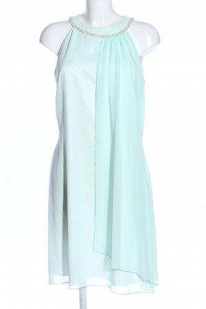 Weise Robe dos-nu turquoise élégant