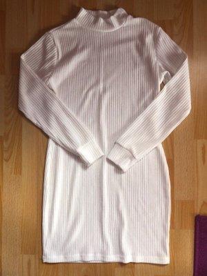 Vintage Anker Sukienka dresowa biały