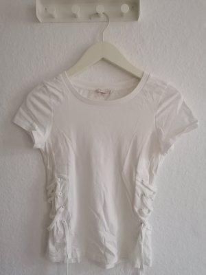 Weise T shirt mit Schnürung