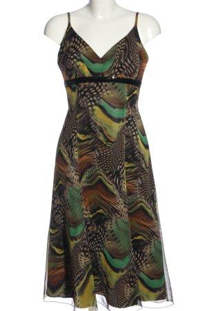 Weise Trägerkleid abstraktes Muster Casual-Look
