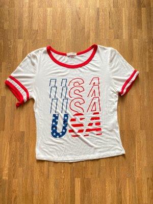 Weises Shirt