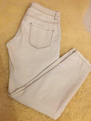 Weiß/beige Hose